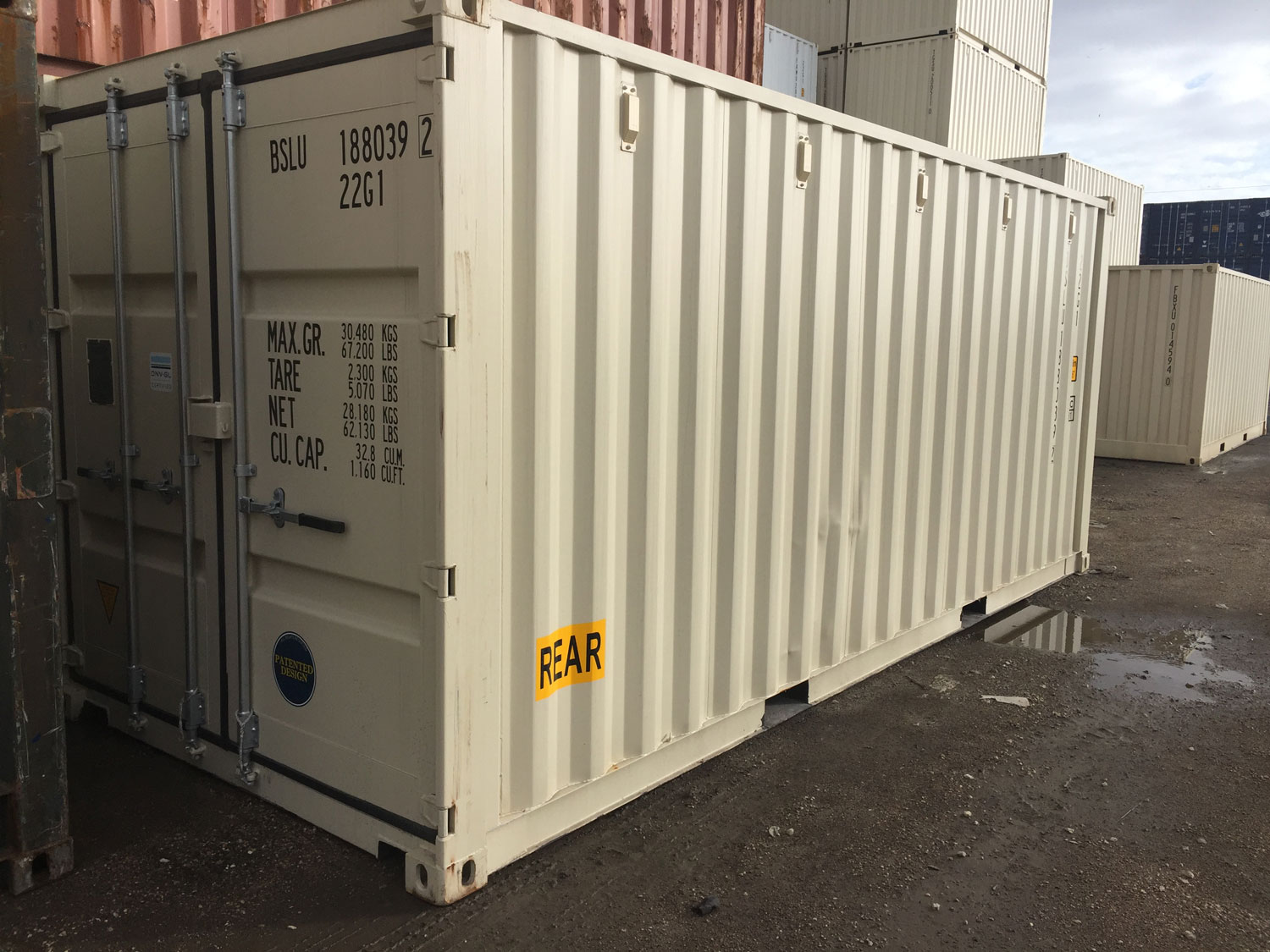 ES Equipment Shipping Containers and Storage Containers For Sale