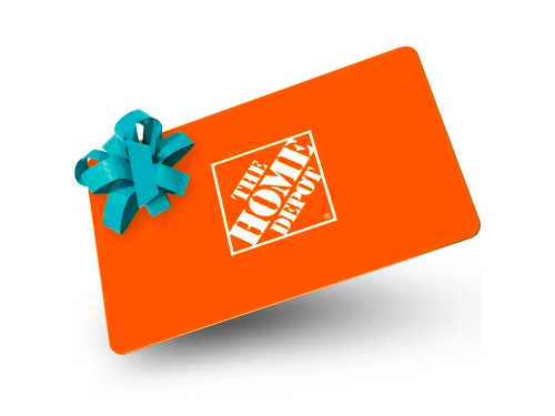E&S Equipment Home Depot Gift Card