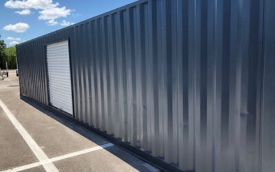 Shipping Containers for Auto Parts Storage